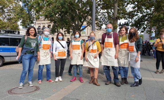 Teilnahme Klimastreik
